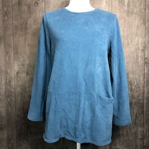 Pure Jill Soft Touch Cotton Long Sleeve Pullover